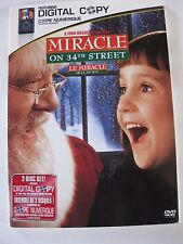 MIRACLE ON 34TH STREET DVD FRENCH  & ENGLISH DIGITAL COPY 2 DISC