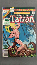 Tarzan Annual #1 (1977) FN/VF Marvel Comics Edgar Rice Burroughs Flat rate ship
