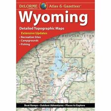 Wyoming State Atlas & Gazetteer, by DeLorme, 12th Edition