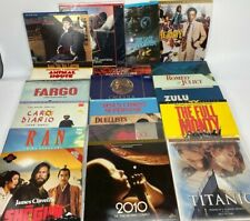 Laser Disk Movie Lot of 21 Collection of Classic Movies