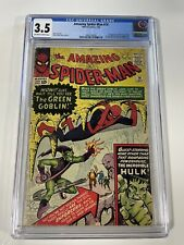 Amazing Spider-Man 14 CGC 3.5 1st Appearance App Of Green Goblin (Sinister Six)