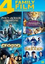 PERCY JACKSON The Lightning Thief ~ NARNIA ~ ERAGON ~THE SEEKER 4 DVD FILM PACK