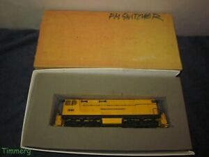 Brass Central Loco Works Akron Canton & Youngstown O Scale Baldwin Switcher Loco