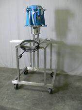 Silverson FX60 Homogenizer / High Shear Mixer w/ Baldor 5 HP Motor+ Mobile Stand