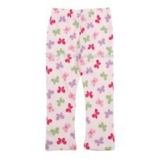 NEW with tags BNWT girls pink cotton butterfly leggings pants size 5