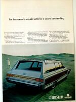 1968 Chrysler Town & Country Wagon Print Ad