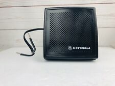 Motorola External Speaker Model Number HSN4032A Tested Working