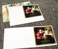 Sparkling Santa Souvenir Sheet Jumbo Forever Stamp. FREE & RAPID S+H Mint Sheet