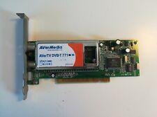 Genuine AverMedia AverTV DVB-T 771 S-Video TV Video Capture PCI Card