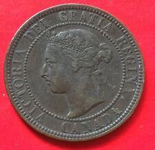 Canada one cent Victoria 1900H