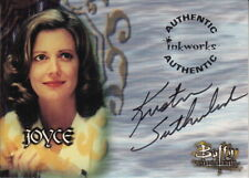 Buffy Tvs - Wos - Kristine Sutherland As Joyce Summers Autograph Card - A4