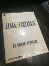 Guide Final Fantasy IX Neuf Sous Blister Sealed