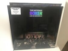 THE NATIONAL BOXER LIVE IN BRUSSELS CLEAR VINYL LP RSD RECORD STORE DAY 2018