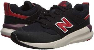 New Balance 258638 Infant Lace-up Closure Sneaker Black/Velocity Size 2 W