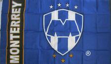 Club Pandilla De Monterrey Flag Banner 3x5 ft, New Navy Blue White Bandera