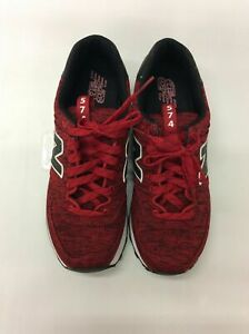 New Balance Women WL574PTD Red/Black Heather Classics