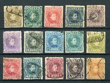 SPAIN 1901, FULL SET, USED