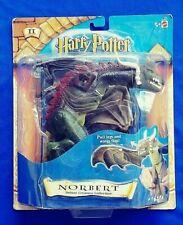 Sealed Mattel 2001 Harry Potter Sorcerer Stone Norbert Magical Action Figure Nip
