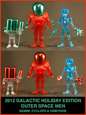 COLORFORMS OUTER SPACE MEN 2012 HOLIDAY GEMINI WITH GREEN ACC'S FACTORY BAGGED