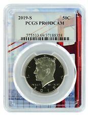 2019 S Kennedy Clad Half Dollar Pcgs Pr69 Dcam - Golden Gate Frame