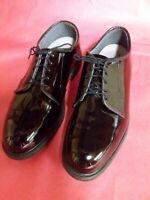 Men's Shoes Bates Uniform Oxfords High Gloss size 9 3E Patent Leather