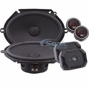 "JBL Stadium GTO 860C 600W 6""x8"" 2-Way Component Car Speakers System"