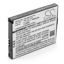 Batterie 1400mAh pour NEC NE-201A1A, Terrain, NE-201A1B