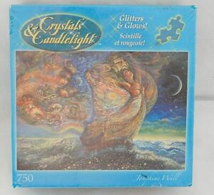 """Crystals & Candlelight Glitters & Glows """"Ocean of Dream"""" Puzzle 750 Piece NEW"""