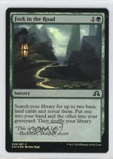 2016 Magic: The Gathering - Shadows over Innistrad 205 Fork in the Road Card 6c5