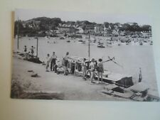 Vintage Real Photo Postcard THE HARBOUR, SANDERSFOOT Franked 1961   §A1309