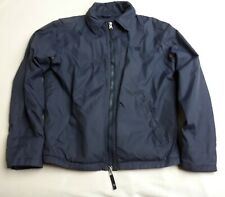 Mens Armani Jeans Navy Blue Field Jacket-Size Small