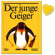 Der junge Geiger - Teil 1 - Violinschule - NM382A - 9790203261285