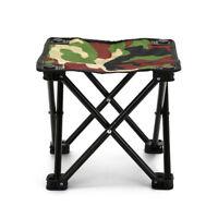 mini portable folding chair outdoor travel fishing camping picnic beach stool HU