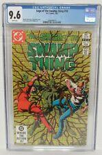 Saga of the Swamp Thing #10 (1983) Bronze Age DC Comics CGC 9.6 O107