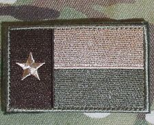 TEXAS STATE LONE STAR FLAG MULTICAM  ISAF VELCRO® BRAND MORALE BADGE PATCH