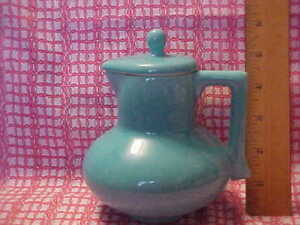 Gladding McBean Franciscan El Patio Covered Syrup Pitcher 1938 MINT!!