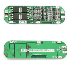 Circuito di ricarica per batterie a litio 18650 3S 20A 3,7V 12,6V 64X20X3,4mm