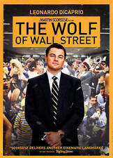 The Wolf of Wall Street (FACTORY SEALED DVD 📀) DiCaprio|Scorsese(Dir)|Classic!