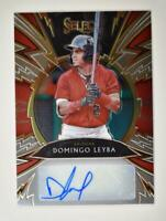 2020 Select Sparks Signatures Auto #SS-DL Domingo Leyba /199 - Diamondbacks