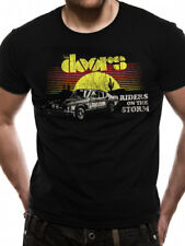 The Doors Riders on the Storm Official Rock Music Black Mens T-shirt