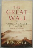 The Great Wall Of China by Julia Lovell Pre-Owned Book Excellent Condition