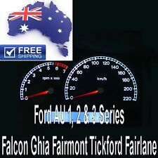 Ford AU Falcon Series 1 2 3 White LED Dash Instrument Cluster Light Bulbs Kit