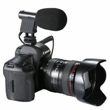 For BOYA BY-VM01 Canon Rebel Directional MIC Microphone T3i T4iT6s  T5i T6i  80D