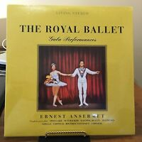 ROYAL BALLET GALA PERFORMANCES  ANSERMET, NUTCKRACKER 2 VINYL LP'S 180 GRAM