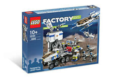 Lego 10191 Star Justice Factory Space 895 Pcs 8 Minifigs * Sealed Box * Rare