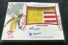 Najee Harris 2017 Leaf Army All American Authentic Jersey Auto #d /10 Autograph