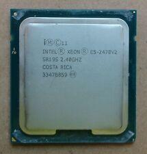 Intel Xeon E5-2470V2 SR19S 2.40GHz 25M 8GT/s Socket 1356 10 Core Processor / CPU