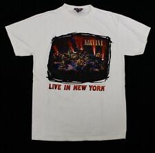 Vintage Nirvana Live In New York Rock T-Shirt