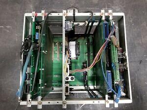 NACHI L8800R04 RISER BOARD CHASSIS W/  BOARDS