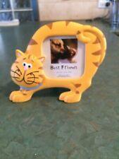 """Best Friends"" Ginger Cat 3 x 3"" (7.6 x 7.6 cm) Photo Frame"